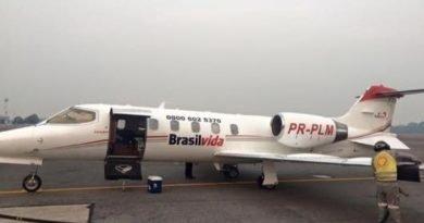 Ronaldo Caiado seguiu para o hospital Sírio-Libanês em São Paulo